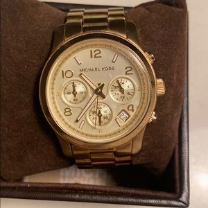 Michael Kors MK 5055 Gold Watch
